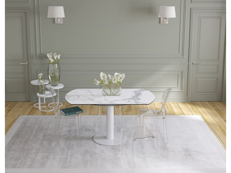 Chaise OLYMPIA 1020 BLANC