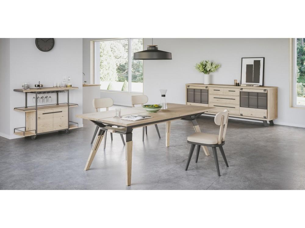 Table basse laqu mat gris blanc equinoxe - Table basse gris laque ...