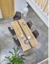 Table rectangulaire Longueur 190 pieds V – NOGENT Atelier de Langres