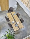 Table rectangulaire Longueur 190 pieds V