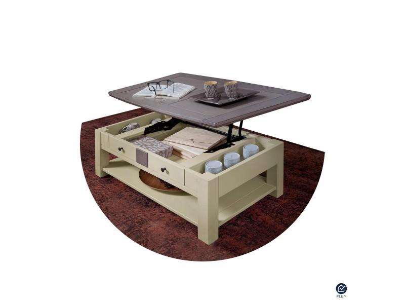Bonnetière 1 porte 1 tiroir WHITNEY - Atelier de Langres