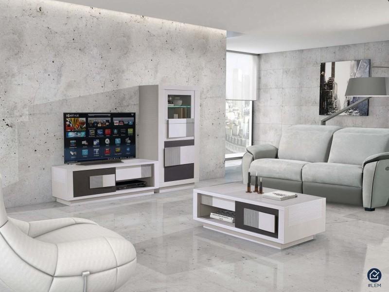 meuble tv hifi luberon. Black Bedroom Furniture Sets. Home Design Ideas