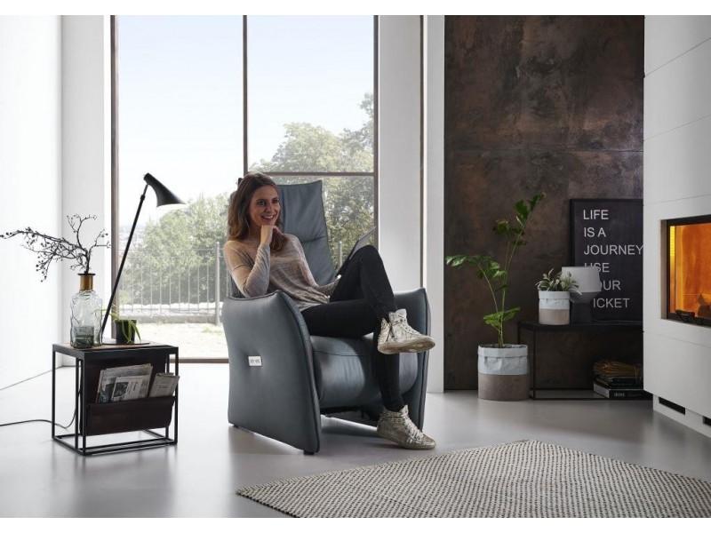 Chaise assise skai couleur Ecru Oceane Atelier de Langres
