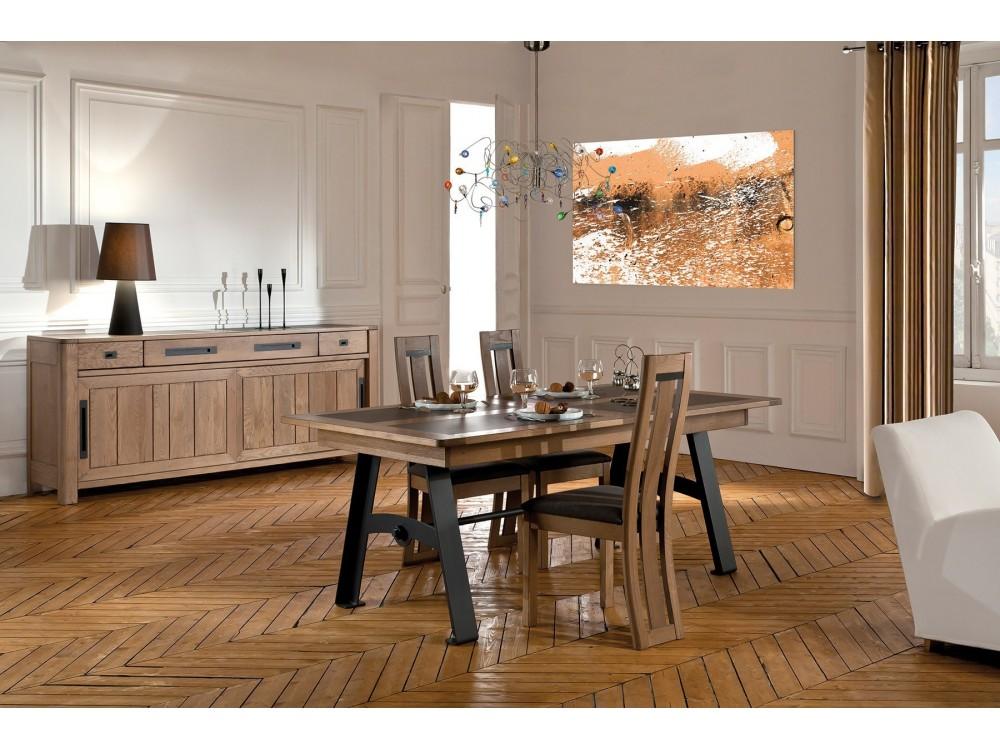 Table rectangulaire en fer forge 772cff canova - Table rectangulaire fer forge ...