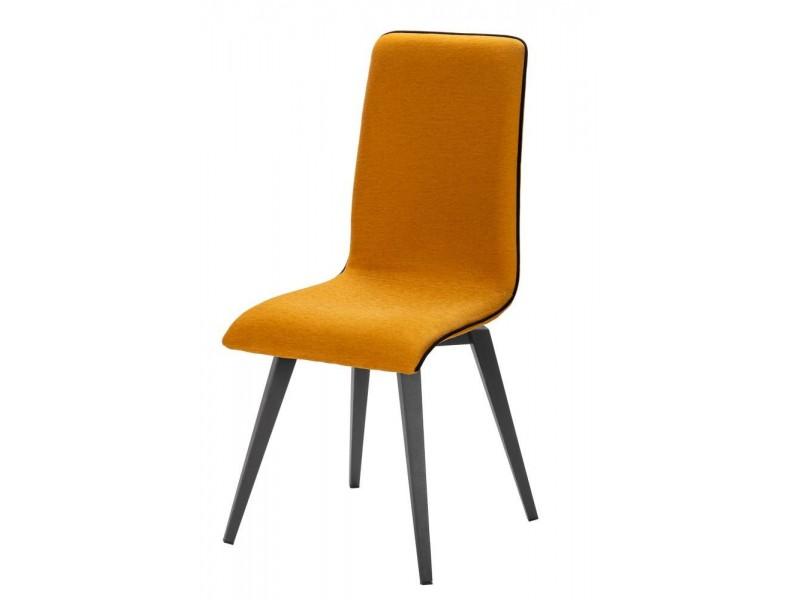 Chaise AGENA 4400 CHENE ASSISE TISSU A6695R