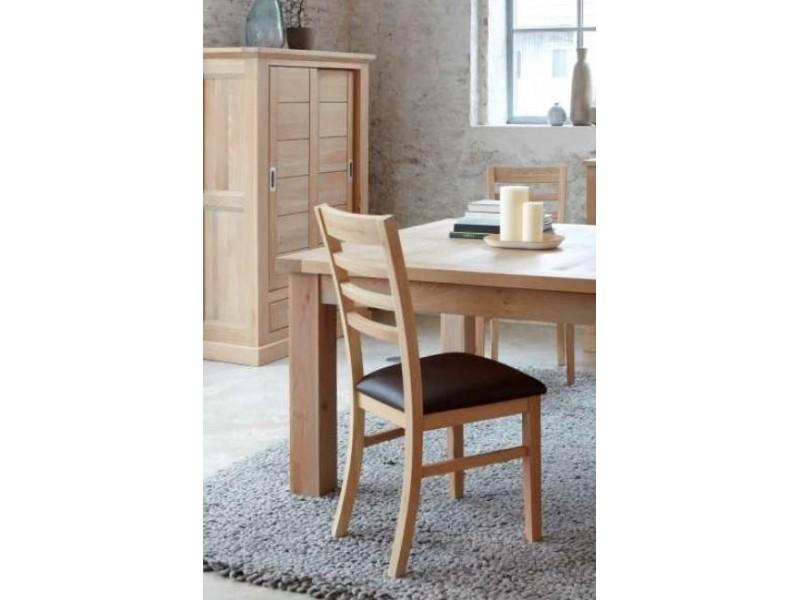 Table 180 x 100 + 2 allonges dessus céramique