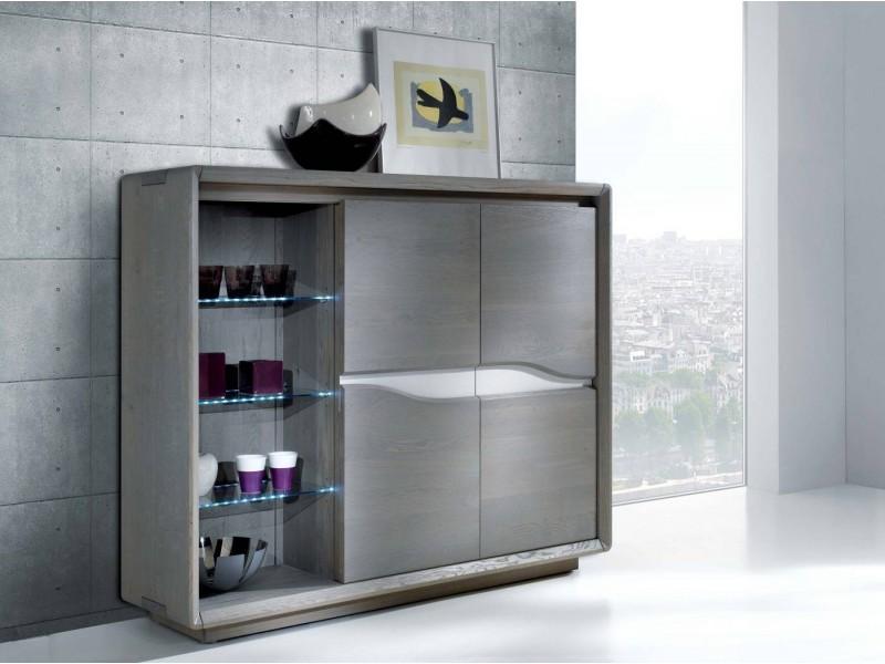 Chevet 1 tiroir 1 niche – LILOU Atelier de Langres