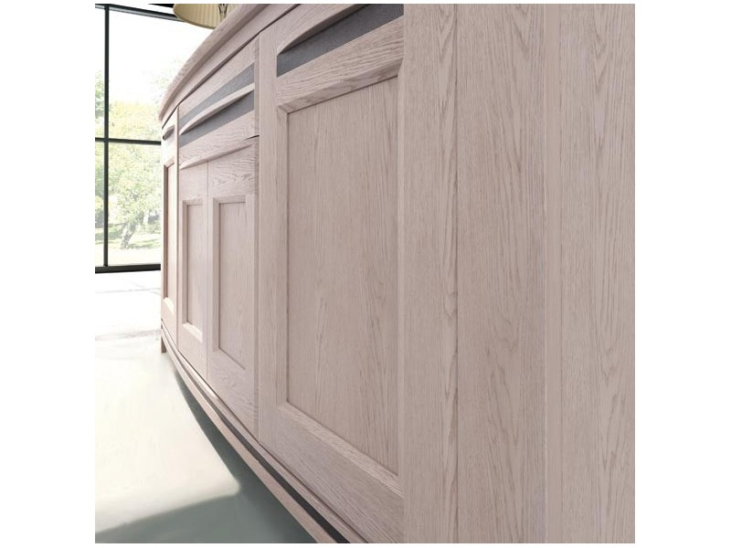 Chevet 1 porte 1 tiroir GAUCHE – NOGENT Atelier de Langres