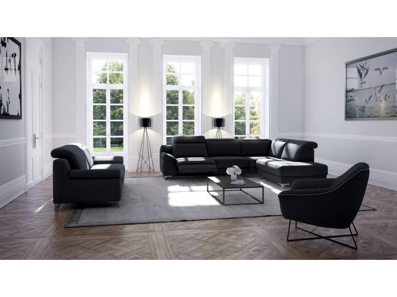 Canapé de relaxation composable et dos au mur