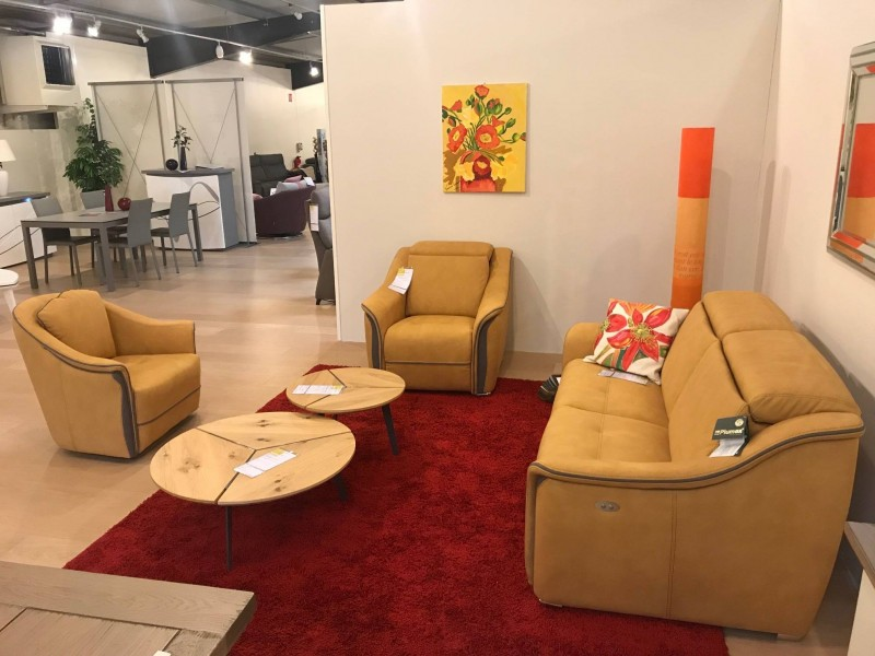 Canapé fixe ou relax design
