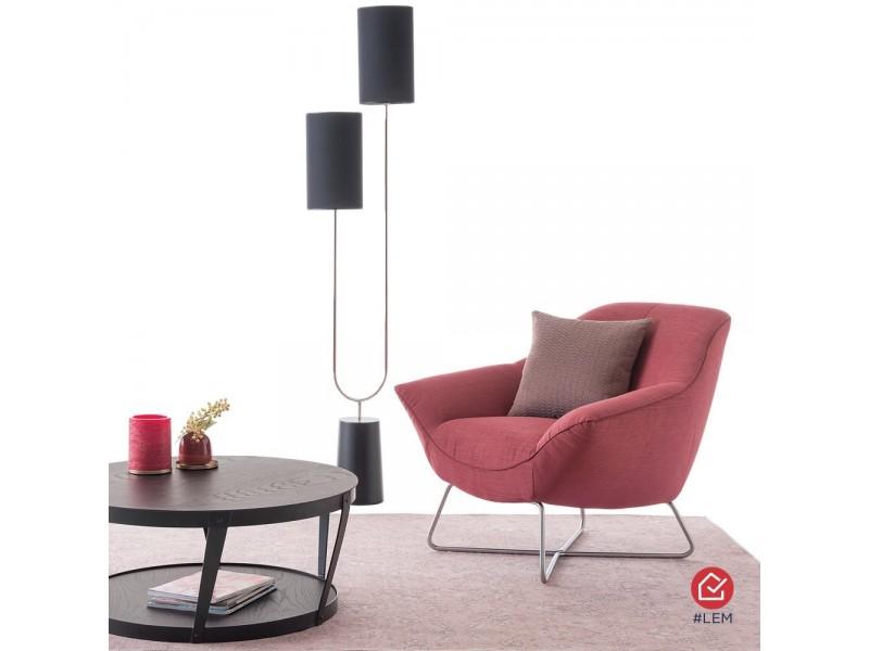 Table Rectangulaire L200 x P100 pieds Métal – DEAUVILLE Ateliers de Langres