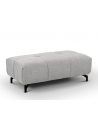 Chaise Tissu Taupe Pieds Chêne EQUIPAGE