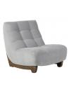 Chaise chêne assise marron  BORA